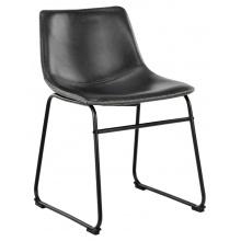 Krzesło do jadalni Oregon czarne vintage