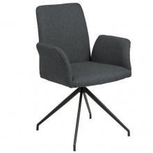 Krzesło do jadalni Naya ciemnoszare
