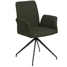 Krzesło do jadalni Naya zielone
