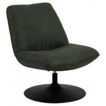 Fotel obrotowy Nanna zielony