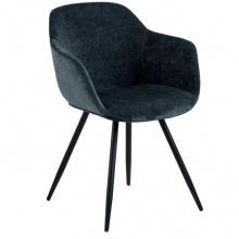 Krzesło do jadalni Noella granatowe
