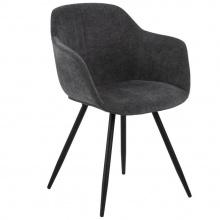 Krzesło do jadalni Noella ciemnoszare