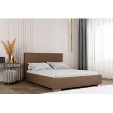 Łóżko tapicerowane Limone 120/140/160/180 cm ze stelażem metalowym i pojemnikiem