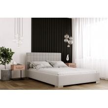 Łóżko tapicerowane Mayoro 120/140/160/180 cm ze stelażem metalowym i pojemnikiem