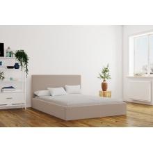 Łóżko tapicerowane Primidonne 120/140/160/180 cm ze stelażem metalowym i pojemnikiem
