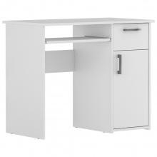 Biurko komputerowe Maja 90 cm z szufladą białe