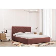 Łóżko tapicerowane Babine 120/140/160/180 cm ze stelażem metalowym i pojemnikiem