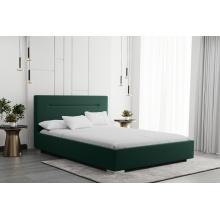 Łóżko tapicerowane Bellis 120/140/160/180 cm ze stelażem metalowym i pojemnikiem