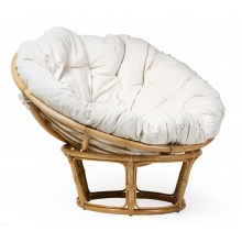 Fotel wypoczynkowy Palu rattan naturalny