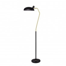 Lampa podłogowa Roseanna metalowa czarna