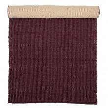 Dywan bawełniany Rollo 120x60 cm bordowy