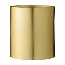 Doniczka metalowa Minte złota