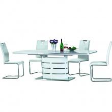 Stół rozkładany Cres 160x220 cm i 8 krzeseł Halvar