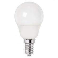 Żarówka LED E14 okrągła 5W biała ciepła