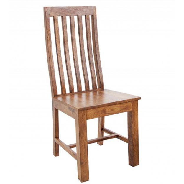 Krzesło do jadalni Kojo drewniane naturalne