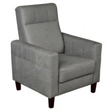 Fotel do salonu Verde szary