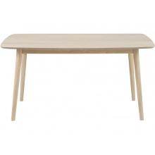 Stół Nagano drewniany dąb bielony