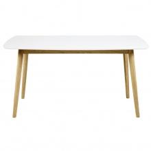 Stół Nagano drewniany biały