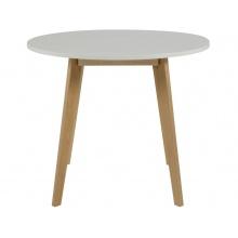Stół Raven drewniany biały