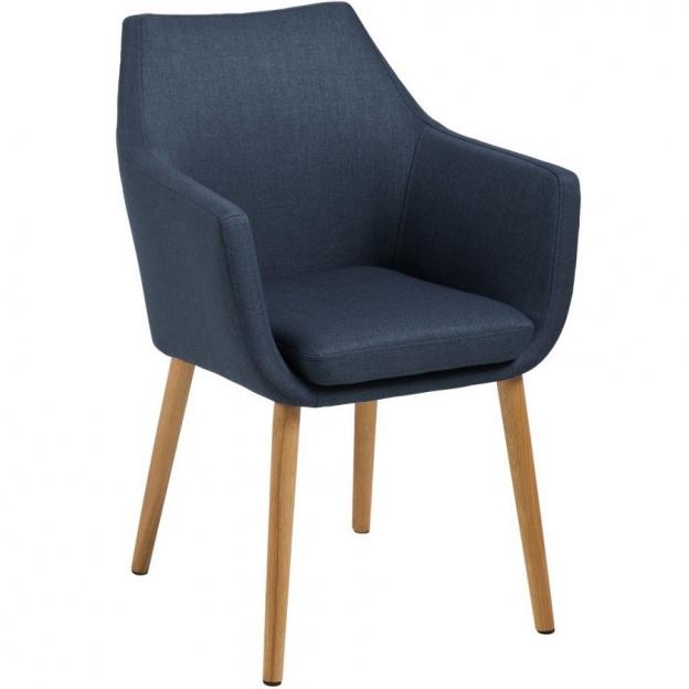 Krzesło z podłokietnikami Nora skandynawskie