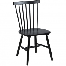 Krzesło kuchenne Riano czarne