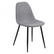 Krzesło do jadalni Wilma jasnoszary
