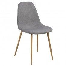 Krzesło do jadalni Wilma II jasnoszary