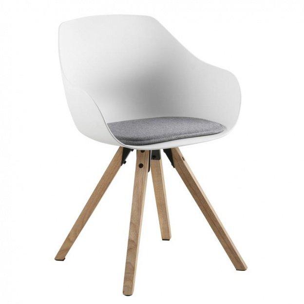 Krzesło do salonu Tina II biały