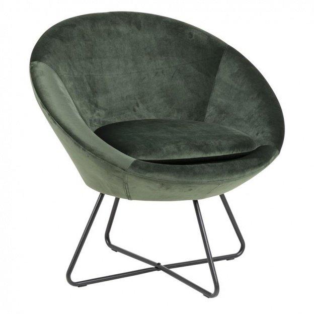Fotel Darwin Zielony