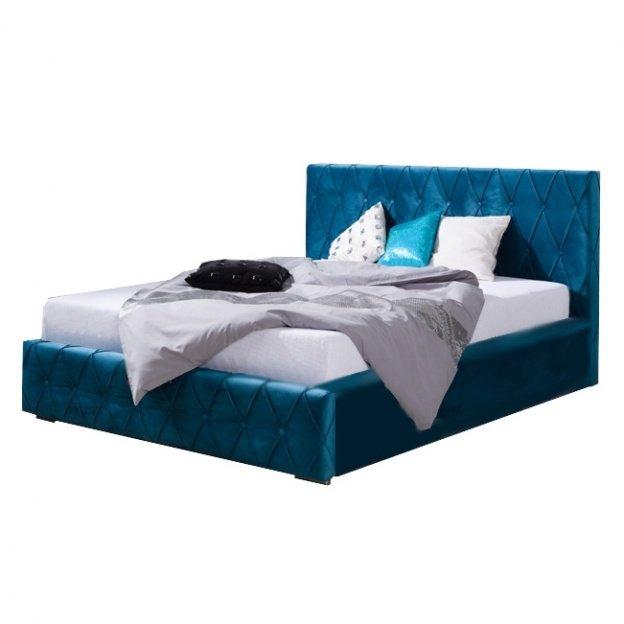 Łóżko tapicerowane Derto 140x200