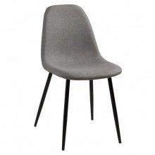 Krzesło do jadani Wilma szary