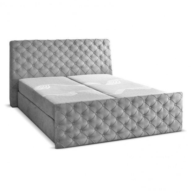 Łóżko kontynentalne Anastasia 140x200 z materacem