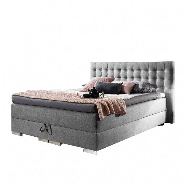 Łóżko kontynentalne Karro 140x200 z pojemnikiem