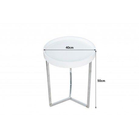 stolik-okragly-modul-bialy-srebrny