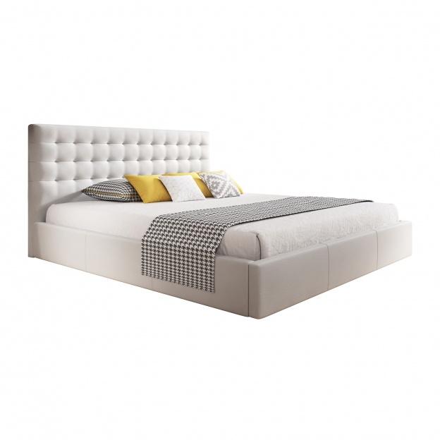łóżko Z Pojemnikiem Nero 140x200 Ze Stelażem