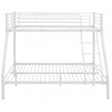 Łóżko metalowe Teofil 140x190 białe