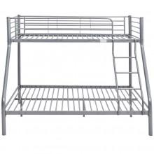 Łóżko metalowe Teofil 140x190 szare