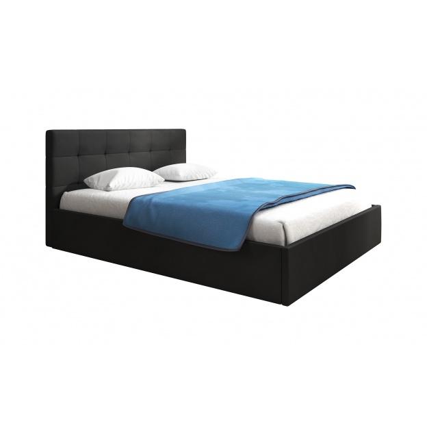 łóżko Z Pojemnikiem Tapicerowane Loretta 140x200