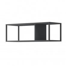 Półka wisząca Moyo III metalowa czarna