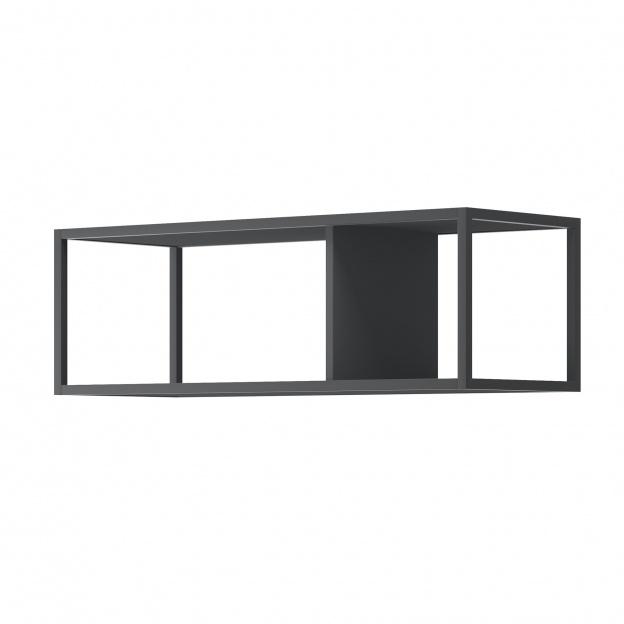 Półka Wisząca Moyo 90 Cm Metalowa Czarna