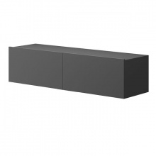 Wisząca szafka RTV Moyo 120 cm grafit