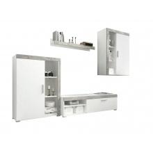 Meblościanka Lito biały/beton