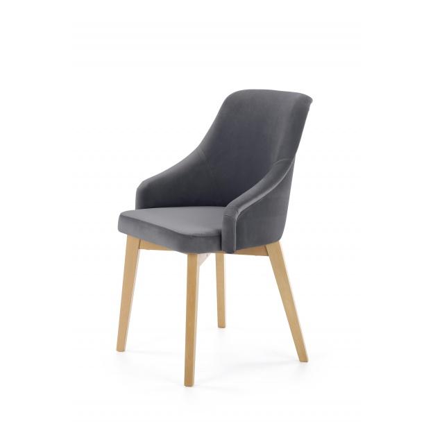 Krzesło do jadalni Portoryko szare