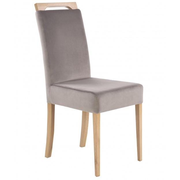 Krzesło Drewniane Carito Szaredąb Miodowy Nowoczesne