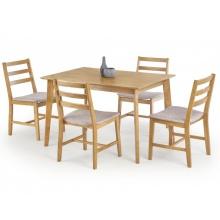 Zestaw Drewniany Medo Stół 120x80 4 Krzesła