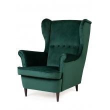 Fotel uszak Emilia zielony
