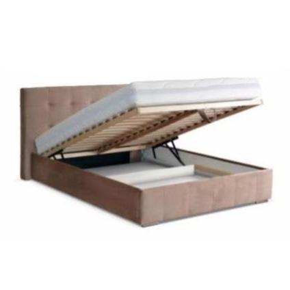Pojemnik 1 (rama drewniana, stelaż elastyczny, podnośniki sprężynowe)